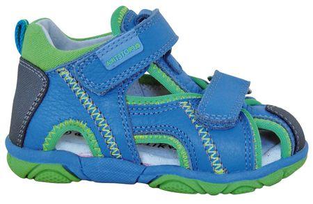 Protetika chlapčenské sandále Stoler 19 modrá