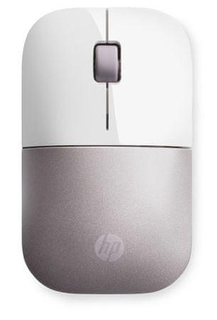 HP Z3700 vezeték nélküli egér, fehér/rózsaszín (4VY82AA)