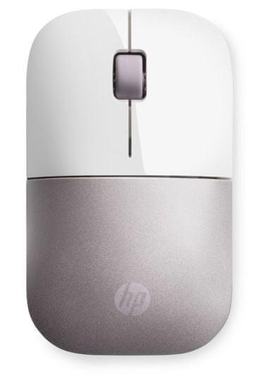 HP Z3700 bezdrátová myš, bílá/růžová (4VY82AA)
