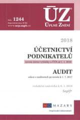 ÚZ 1244 Účetnictví podnikatelů, Audit, 2018