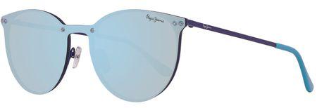 Pepe Jeans okulary przeciwsłoneczne damskie niebieskie