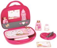 Smoby Baby Nurse bőrönd, csecsemő szükségletekkel
