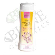 Bione Cosmetics Čisticí odličovací pleťové mléko s kyselinou hyaluronovou Hyaluron Life 255 ml