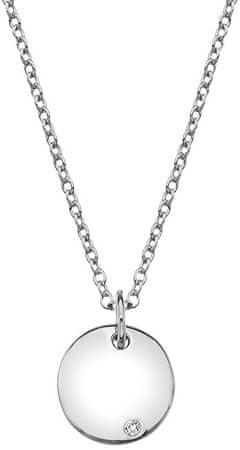 Hot Diamonds Ezüst nyaklánc valódi gyémánt Iris DP703 ezüst 925/1000