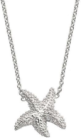 Hot Diamonds Stříbrný náhrdelník s pravým diamantem Daisy DN132 stříbro 925/1000