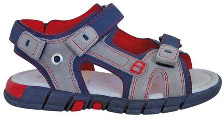 Protetika sandały chłopięce Larvik 27 szare