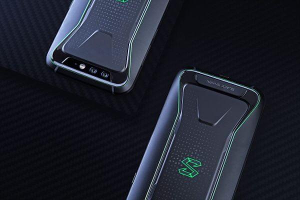 chytrý herní telefon xiaomi black shark 6 GB / 64 GB 5,99palcový displej 4000mAh kapacita baterie živé barvy čtečka otisku prstů