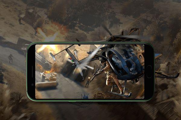 xiaomi herní mobil black shark 6 GB / 64 GB gamepad na hraní her dvě tlačítka kloboučkové ovládání rychlejší střelba