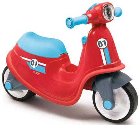 Smoby Pedál nélküli gyerekkerékpár, játék robogó, piros