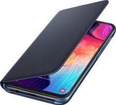 Samsung Galaxy A50 Flip Wallet Cover, černý EF-WA505PBEGWW