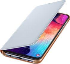 SAMSUNG Galaxy A50 Flip Wallet Cover, biely EF-WA505PWEGWW