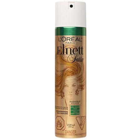Loreal Paris Hajlakk extra erős fixálás Elnett Satin Unfragnanced ( Extra Strong Hair Spray) 250 ml