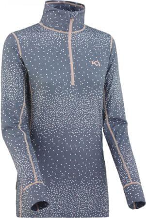 Kari Traa ženska športna majica Meteor H/Z, Jeans, siva, XS