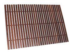 Koopman Prestieranie bambus 43 x 29 cm tmavo hnedá