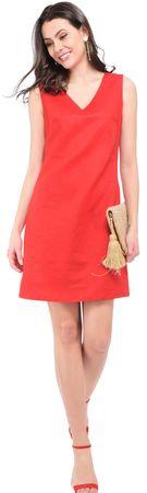William de Faye dámské šaty S červená