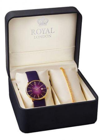 Royal London sada hodinek s náramkem 41369-06-SET