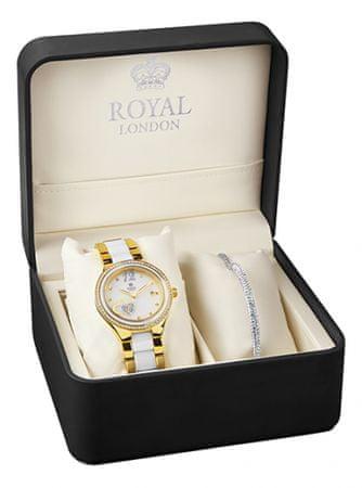 Royal London sada hodinek s náramkem 21288-03-SET