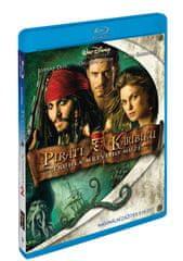 Piráti z Karibiku 2: Truhla mrtvého muže - Blu-ray