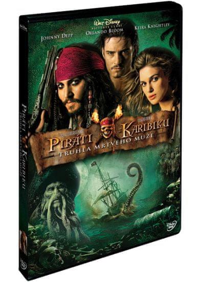 Piráti z Karibiku 2: Truhla mrtvého muže - DVD
