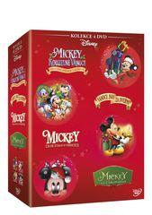 Vánoční Mickey - kolekce (4DVD) - DVD