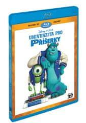 Univerzita pro příšerky 3D+2D (2 disky) - Blu-ray