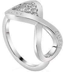 Guess Elegáns gyűrű végtelen szerelem UBR85004