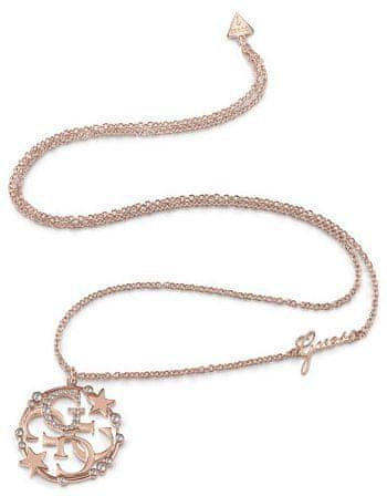 Guess Divatos bronz nyaklánc UBN28020