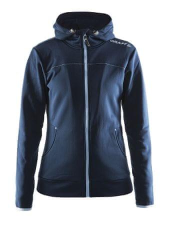 Craft jakna s kapuco Leisure Full Zip, Dk. Navy, XS