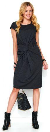 Makadamia ženska obleka, 40, siva