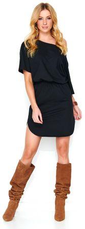 Makadamia dámské šaty 36 černá