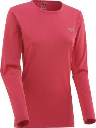 Kari Traa ženska majica Nora Ls, Fruit, ružičasta, M