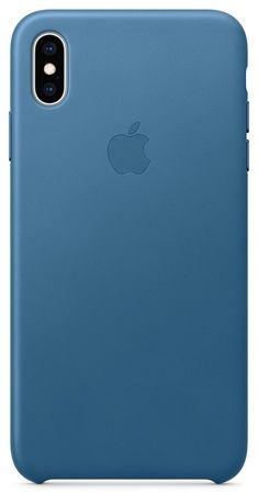 Apple kožený kryt na iPhone XS Max, modrošedá MTEW2ZM/A