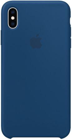 Apple szilikonos tok iPhone XS Max számára, esti kék MTFE2ZM/A