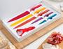 2 - InnovaGoods set keramičnih nožev in lupilcev, 6 kosov