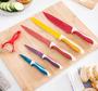3 - InnovaGoods set keramičnih nožev in lupilcev, 6 kosov