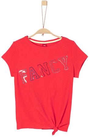 s.Oliver dívčí tričko S červená