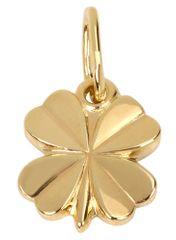 Brilio Zlatý přívěsek Čtyřlístek 242 001 00120 zlato žluté 585/1000