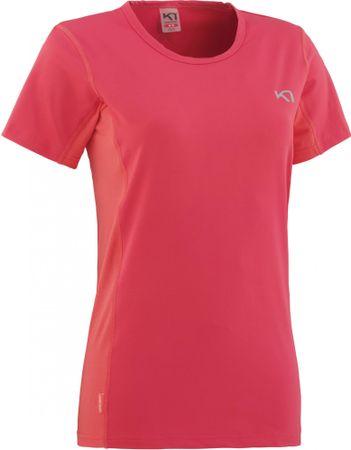 Kari Traa ženska majica s kratkimi rokavi Nora Tee, L, roza