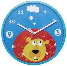 My Best Home Zegar naścienny dziecięcy LEW Ø 22,5 cm