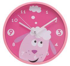 My Best Home Zegar ścienny dziecięcy OWIECZKA Ø 22,5 cm