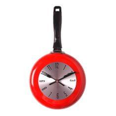 My Best Home Zegar ścienny czerwony 20 x 38 cm