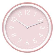 26347cafb My Best Home Nástěnné hodiny COLORS - PINK Ø 20 cm