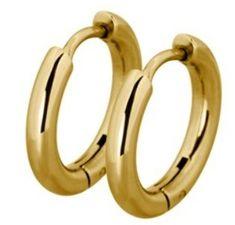 Tribal Módne pozlátené krúžky ESS503_10 Gold