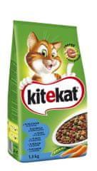 Kitekat suha hrana za mačke, tuna/zelenjava, 1,8 kg