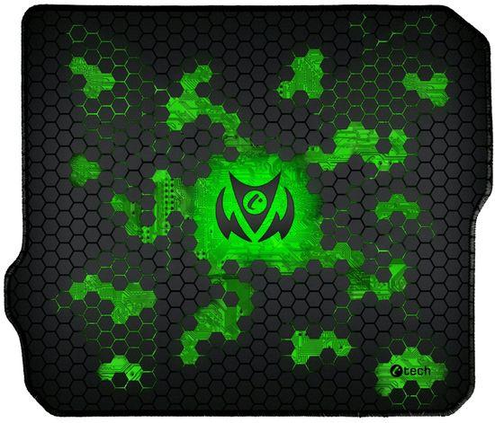 C-Tech Anthea Cyber, zelená, látková (GMP-01C-G)