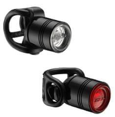 Lezyne Zestaw lampek rowerowych LED Femto Drive Pair Black/Red