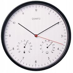 My Best Home Zegar naścienny CLEVER z areometrem i termometrem Ø 25,5 cm
