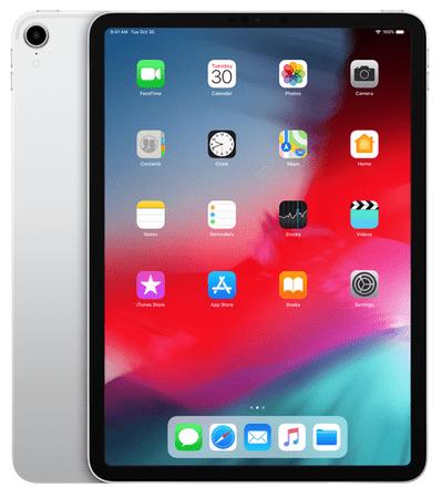 Apple iPad Pro 11, Cellular, 256 GB, Silver (mu172hc/a)