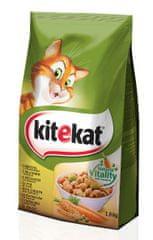 Kitekat suha hrana za mačke, piščanec/zelenjava,1,8 kg