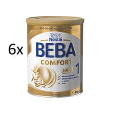 Nestlé 6 x BEBA COMFORT 1 HM-O 800g